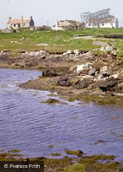 Croft Cottages At Clacham-A-Luib 1988, North Uist