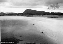 Eaval From Claddach 1963, North Uist