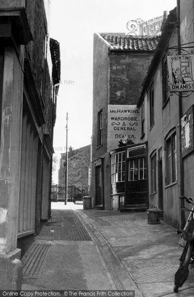 Photo of North Walsham, a Quaint Corner c1955
