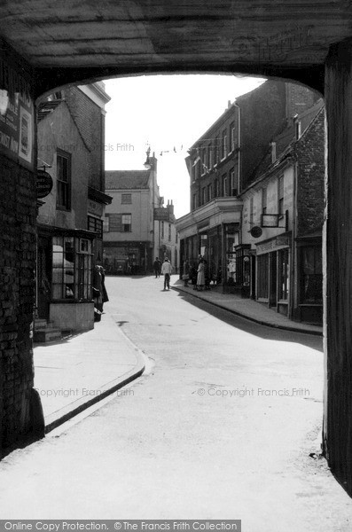 Photo of North Walsham, an Old Bit c1955, ref. n42025