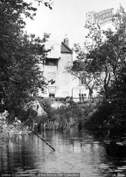 Photo of North Walsham, Bacton Wood Mill c.1955