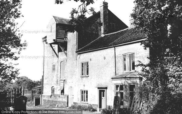North Walsham,Bactonwood Mill, Spa Common c1955,Norfolk