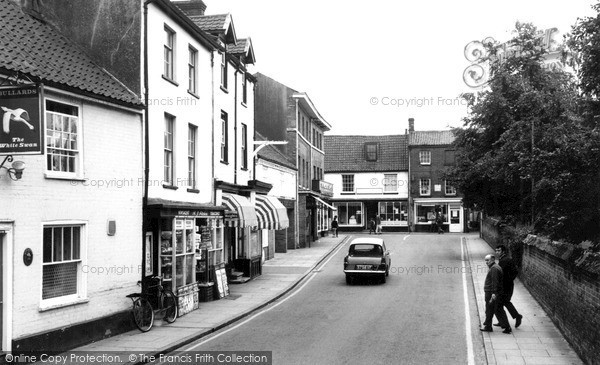 Photo of North Walsham, Church Street c1955, ref. n42051