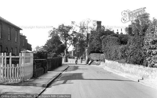 Photo of North Walsham, Grammar School Road c1955, ref. n42012