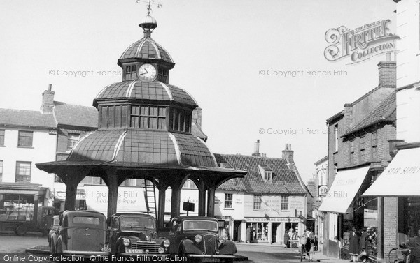 Photo of North Walsham, Market Cross c1955, ref. n42001