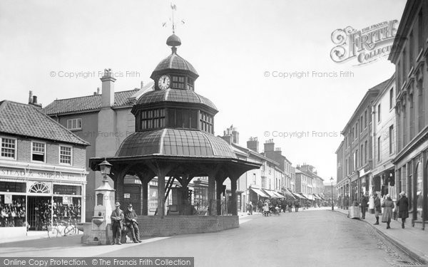 Photo of North Walsham, Market Place 1921