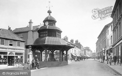 North Walsham, Market Place 1921