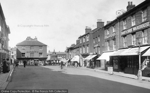 Photo of North Walsham, Market Place 1921