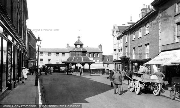 Photo of North Walsham, Market Place 1921, ref. 70936