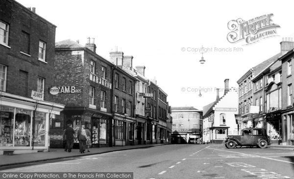 Photo of North Walsham, Market Place c.1950
