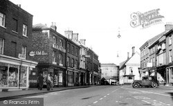 North Walsham, Market Place c.1950