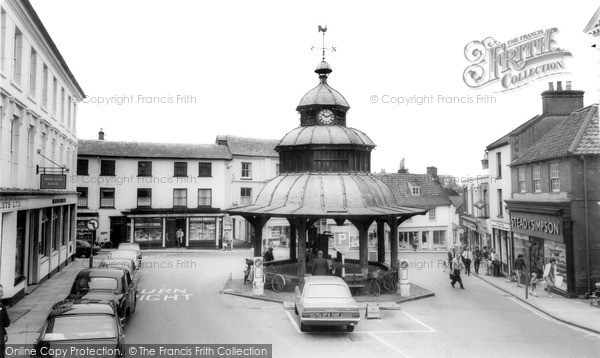 Photo of North Walsham, Market Street c1955, ref. n42055