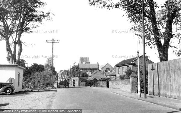 Photo of North Walsham, New Road c.1955