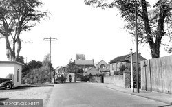 North Walsham, New Road c.1955
