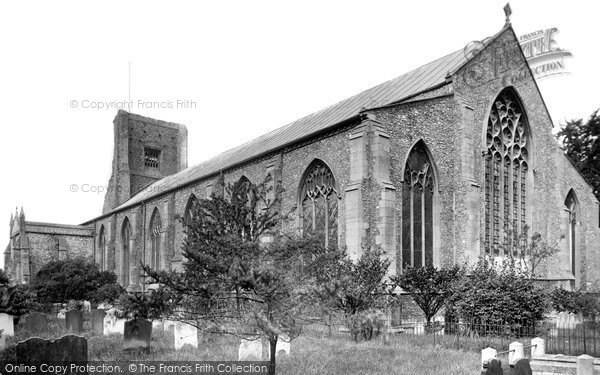 Photo of North Walsham, the Church 1921, ref. 70940