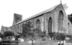North Walsham, St Nicholas Church 1921