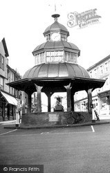 North Walsham, The Clock Tower c.1955