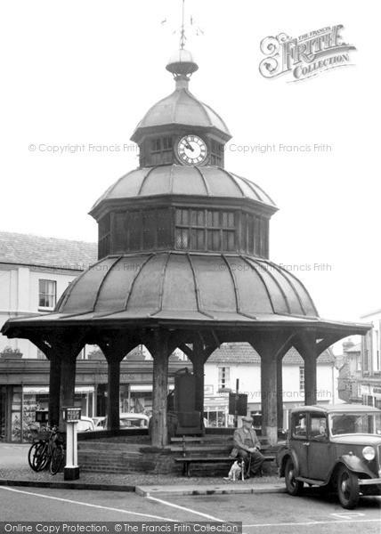 Photo of North Walsham, the Clock Tower c1955