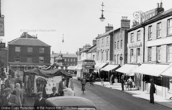 Photo of North Walsham, The Market Place c.1950