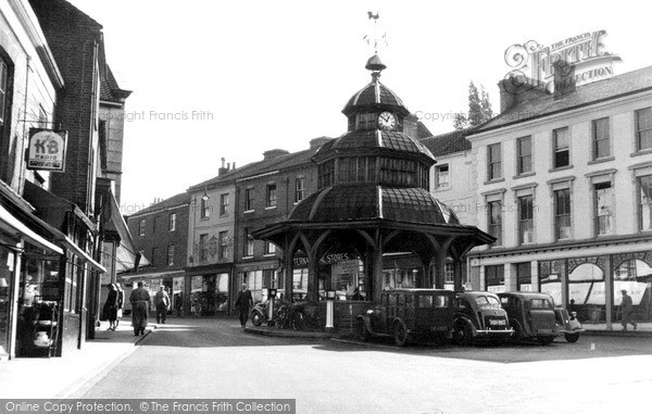 Photo of North Walsham, The Old Clock Tower c1955, ref. n42023