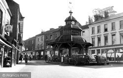 North Walsham, The Old Clock Tower c.1950