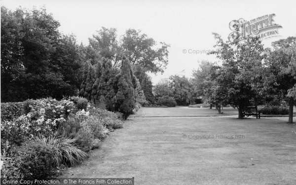 Photo of North Walsham, The Park c.1960
