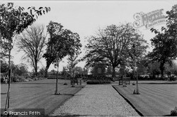North Walsham, War Memorial Park c.1955