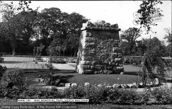 Photo of North Walsham, War Memorial Park c1955, ref. n42018