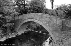 The Old Pack Horse Bridge c.1950, Northallerton