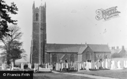 Northam, Church From South c.1890