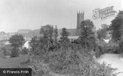 Northam, Church From West c.1890