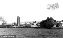 Northam, St Margaret's Church From Fields c.1955