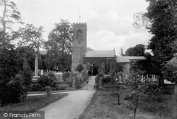Northampton, Abington Parish Church 1922