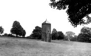 Northampton, Abington Park, The Pigeon Tower c.1955