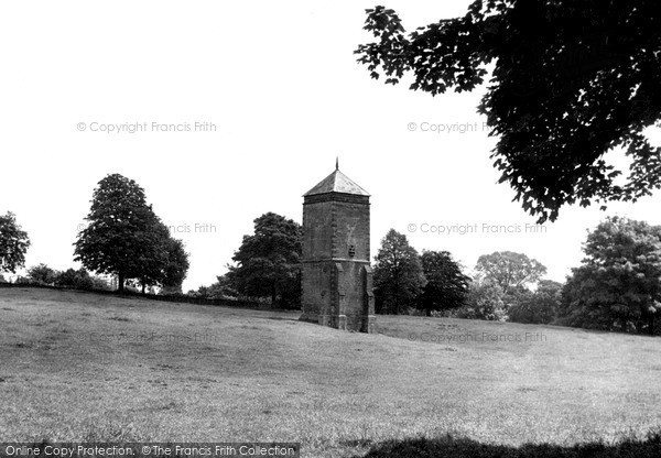 Northampton, Abington Park, the Pigeon Tower c1955