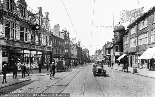 Photo of Northampton, Abington Street 1922