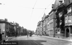 Northampton, Abington Street And Notre Dame High School 1922
