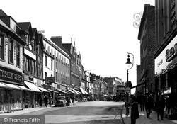 Northampton, Abington Street c.1955
