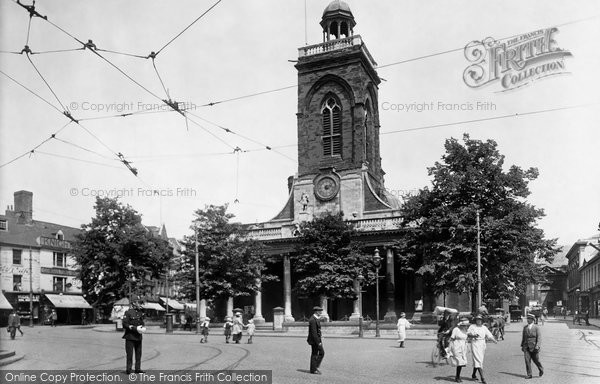 Northampton, All Saints Church 1922.  (Neg. 72191)  � Copyright The Francis Frith Collection 2008. http://www.francisfrith.com