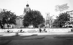 Northampton, All Saints Church c.1955