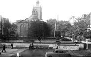 Northampton, All Saints Church c.1955