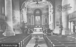 Northampton, All Saints Church Interior 1922