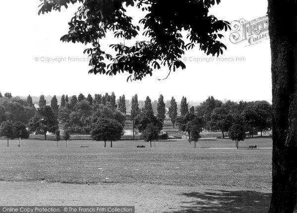 Northampton, Becketts Park c.1955