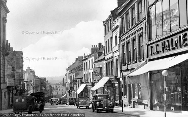 Northampton, Bridge Street c.1955