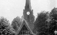 Northampton, Church Of The Holy Sepulchre And Lychgate 1922