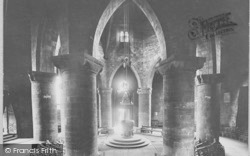 Northampton, Church Of The Holy Sepulchre Interior 1922