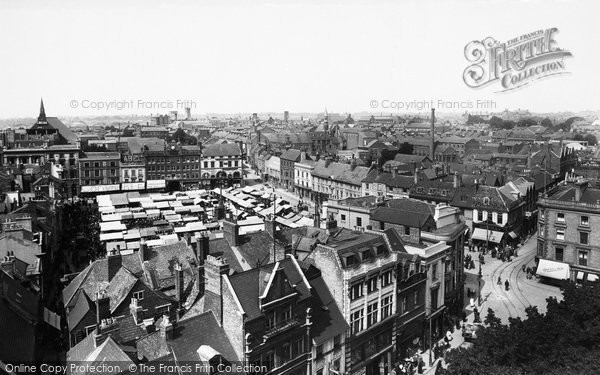 Photo of Northampton, From All Saints Tower 1922