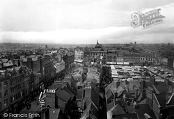 Northampton, From All Saints Tower 1922