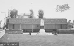 Northampton, Gardens Of Rememberance c.1955