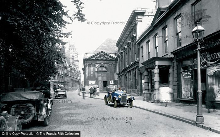 Northampton, George Row 1922.  (Neg. 72178p)  � Copyright The Francis Frith Collection 2008. http://www.francisfrith.com